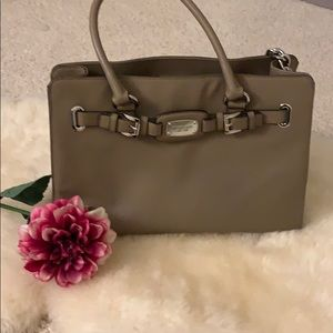 Michael Kora Hamilton Leather Tote